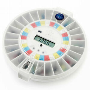 Pivotell® Advance (Clear Lid) Automatic Medication Pill Dispenser