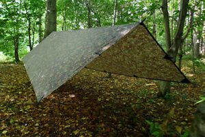 DD Waterproof XL Multicam Tarp Rain Sun Shelter 4.5m x 3m | Free USA Shipping!