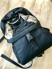 LOWEPRO Photo Backpack Street and Field Rover Light Case Bag Black and Beige