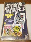 NEW NIP Vintage Star Wars 1982 Craft Master Art Poster Set Sealed Yoda, Fett