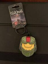 Halo Wars 2 Spartan Helmet Metal Keychain with Enamel Fill