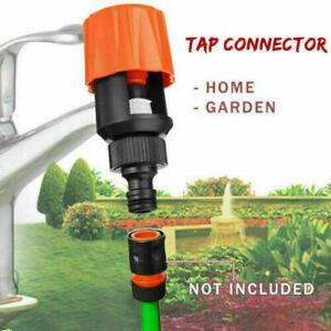 Universal Kitchen Mixer Tap To Garden Hose Pipe Connector Adapter Indoor Tool UK