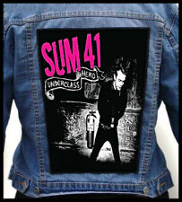 SUM 41 - Underclass Hero  --- Giant Backpatch Back Patch