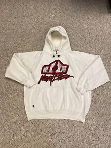 Johnny Blaze Method Man Wu-Tang Vintage White Sweatshirt Hip Hop Rap 90s size XL