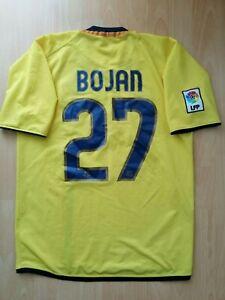 Bojan #27 Barcelona Away Football Jersey M 2008 2009 Futbol Camiseta Shirt
