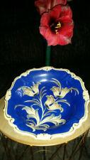 50er- & 60er-Jahre Sammel- & Zierteller aus Porzellan-Teller mit Blumen-Motiv