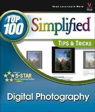 LIKE NEW ~ Digital Photography Top 100 Simplified Tips and Tricks FREE SHIPPING