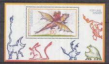 Germany 1994 Animated Dragon, Creature,  miniature sheet MNH