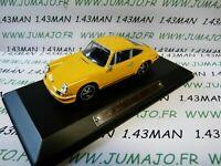 AK4U voiture 1/43 ixo atlas Auto Klassiker : PORSCHE 911 jaune orange