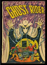 Ghost Rider #6 (Trimmed) Golden Age Magazine Enterprises Comic 1951 App. GD