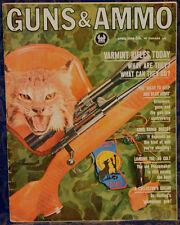 Vintage Magazine GUNS & AMMO April, 1964 !!! Loading for the .45 COLT !!!