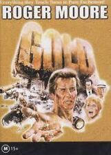 GOLD - STARRING: ROGER MOORE (DVD) REGION- ALL NEW , FREE POST AUSTRALIA WIDE