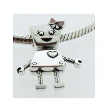 GENUINE PANDORA Silver Bella Bot Charm 797141EN160 FREE DELIVERY