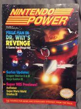Vintage Nintendo Power Magazine vol 27 August 1991 w/ Star Wars poster!