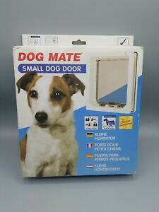 Dog Mate Multi Insulation Dog Exterior Wall Door Patio Panel White Small NEW