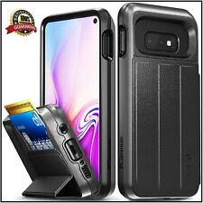Vena Samsung Galaxy S10 Wallet Case, [vCommute][Military Grade Drop Protection]