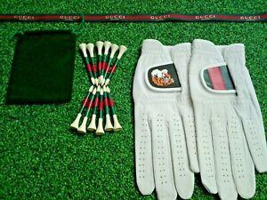 Gucci Golf Cabretta leather golf gloves