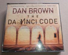 """Audiobook 5-CD set: Dan Brown """"The Da Vinci Code"""", with timing booklet"""