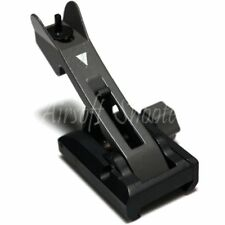 Airsoft Shooting Gear APS Metal Flip Up Front Sight Black