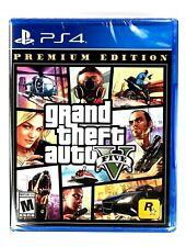 New! Grand Theft Auto V 5 Premium Edition Ps4 Factory Sealed Gta 5