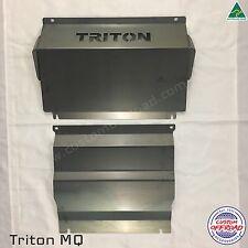 Triton MQ 2016 - 2017 - 2 piece 3mm Mild Steel Bash Plate Set - Aussie Made