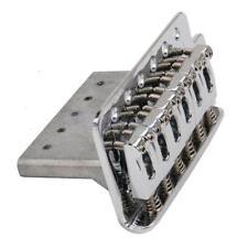Chrome Tremolo Bridge System For Fender Stratocaster Strat Electric Guitar Parts