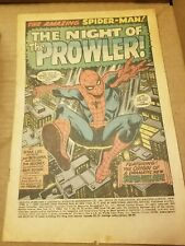 The Night Prowler Spiderman Comic book #78