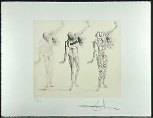 SALVADOR DALI * Three Droughts * 50 x 60 cm * signed lithograph * limited