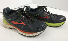 Brooks Adrenaline GTS 15 Mens Size 7 Grey/Black Running Shoes