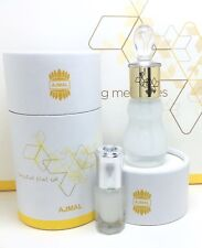 HAPPY MUSK - WHITE MISK TAHARA BY AJMAL 3ML Exclusive Arabian Pure Perfume Oil