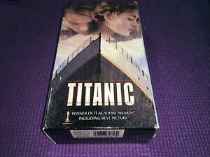 Titanic (VHS,Preowned ) Leonardo DiCaprio, Kate Winslet