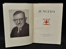JUNCEDA. FOMENTO DE LAS ARTES. AÑO 1952. MUY ILUSTRADO