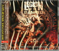 LEGION OF THE DAMNED-DESCEND INTO CHAOS-JAPAN CD BONUS TRACK F75