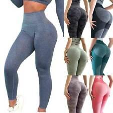 Women Seamless Leggings Gym High Waist Push Up Sport Fitness Yoga Pants Shark G1