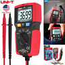 Pocket Size Digital Auto Range Multimeter AC/DC Volt Amp OHM Test UNI-T UT125C