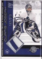 01-02 McDonalds Curtis Joseph /219 Game PATCH Maple Leafs 2001