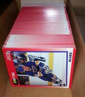 1991-92 SCORE CANADIAN BILINGUAL SERIES 1 NR COMPLETE SET -4: GRETZKY, HULL+