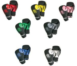 Tactical 12 oz. Boxing Gloves Kickboxing Sparring Training Cardio