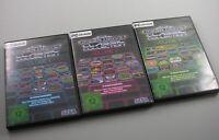 Sega Mega Drive Classic Collection Vol. 1, 2 und 3 komplett (PC, 2010, DVD-Box)