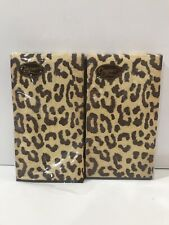 Hand Towels Paper Guest Leopard Animal Print Party Supplies Decorations Pk 30