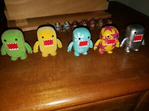 Domo 2 inch Qee Collectible Figures and Keychain figures