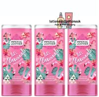 Imperial Leather LETS FLAMINGLE Shower Cream Gel / Body Wash 400ml - 3 Pack
