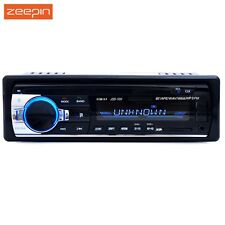 Radio de coche 12V Bluetooth V2.0 Car Audio Estéreo en Tablero 1 Din FM Entrada Aux recibir