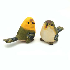Outdoor Garden Decoration Lawn Sculptural Little Bird Set Statue Ornament