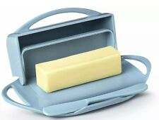 Butterie® Flip-Top Butter Dish with Spreader Light Blue
