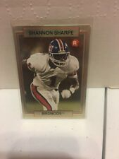 1990 Action Packed Shannon Sharpe #46 Football Card