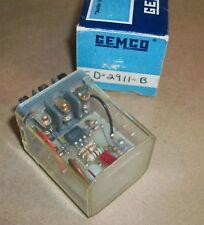 Gemco 120v Relay SD-2911-B NEW