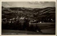 Ludwigsstadt Bayern AK alte Postkarte 1938 gelaufen Gesamtansicht Panorama