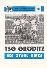 DDR-Liga 82/83 ZEPA acero contribución-TSG gröditz, 10.04.1983