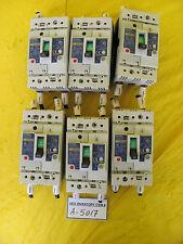 Mitsubishi NV50-SW Earth-Leakage Circuit Breaker Lot of 6 Used Working